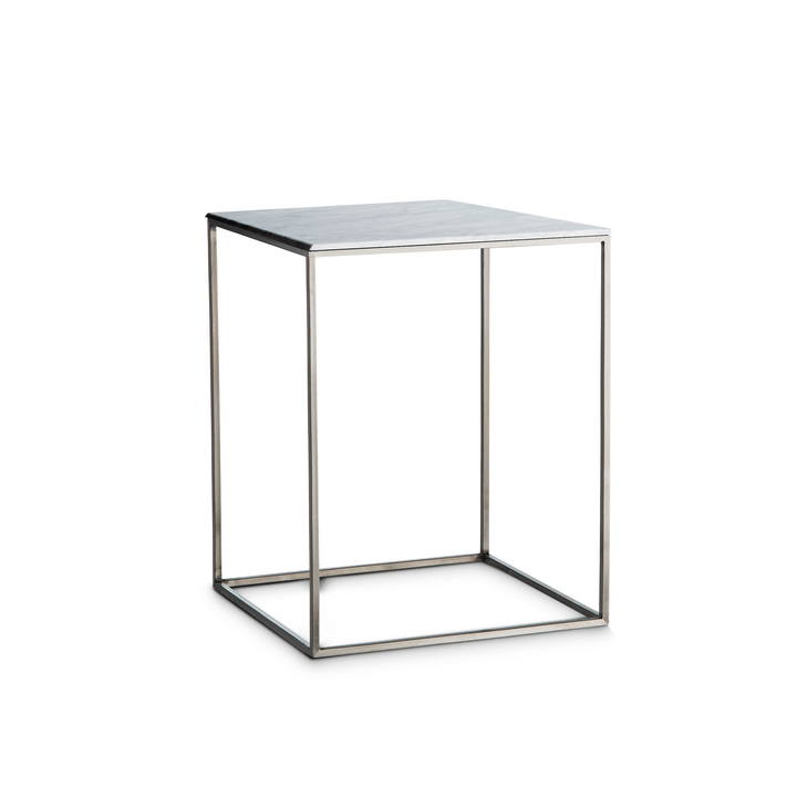 COFFEE table d'appoint 362231500000 Colore Bianco varie fantasie Dimensioni L: 40.0 cm x P: 40.0 cm x A: 51.0 cm N. figura 1