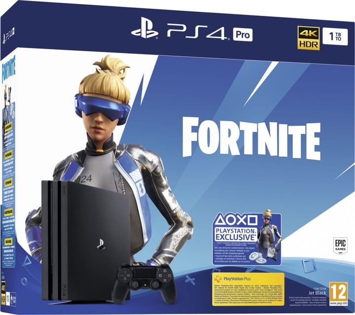 PlayStation 4 Pro 1TB Black: Fortnite Neo Versa Bundle Spielkonsole Sony 785443300000 Bild Nr. 1