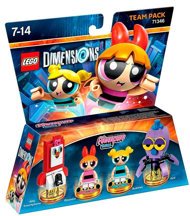 LEGO Dimensions Team Pack - Powerpuff Girls 785300128203 N. figura 1