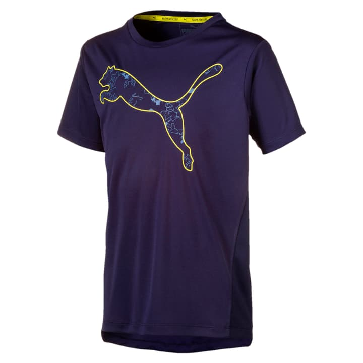Active PES Graphic Tee B Knaben-T-Shirt Puma 466908312843 Farbe marine Grösse 128 Bild-Nr. 1
