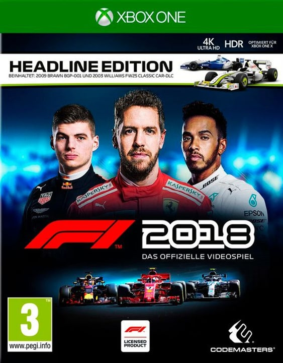 Xbox One - F1 2018 Headline Edition (I) Box 785300136731 Bild Nr. 1