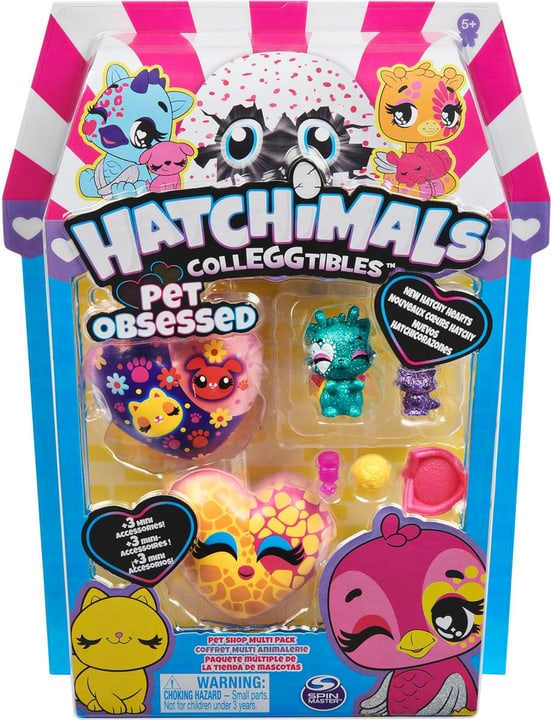 Hatchimal Coll. Petlover Pack 746596200000 Photo no. 1