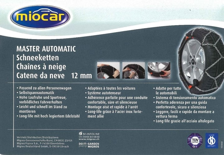 Chaînes neige MasterAutomatic 4500 Miocar 62101470000012 Photo n°. 1