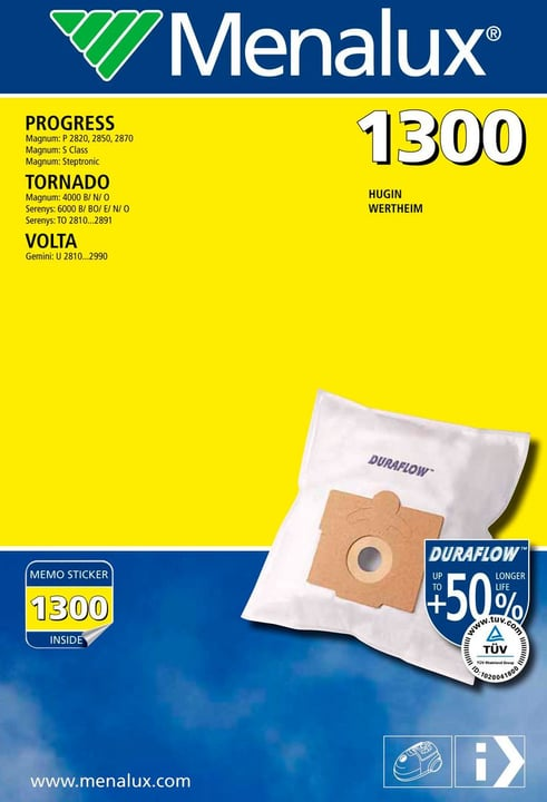 1300 Duraflow sacs à poussière 785300126932