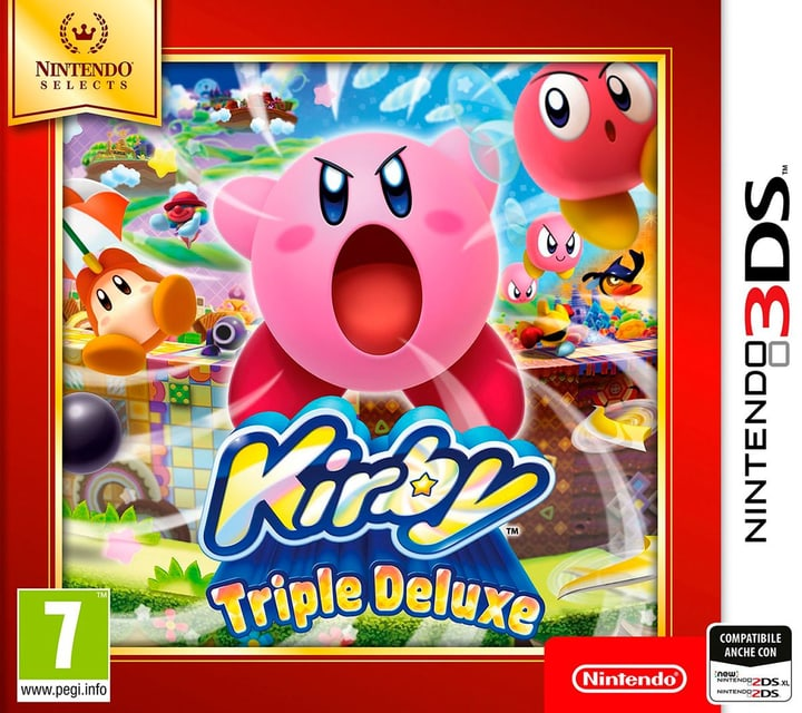3DS - Nintendo Selects: Kirby Triple Deluxe Box 785300129659 N. figura 1