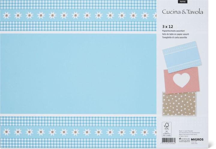 Tovagliette di carta, 30 x 42 cm Cucina & Tavola 705476000000 N. figura 1