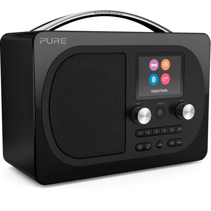 Evoke H4 - Noir Radio DAB+ Pure 785300134289 Photo no. 1