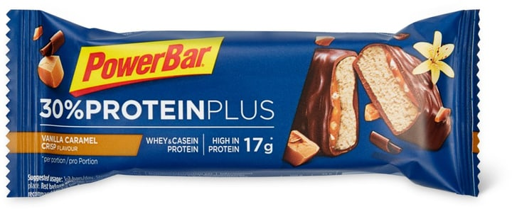 Protein Plus Proteinriegel Powerbar 471902800100 Geschmack CARAMEL-VANILLA CRISP Bild Nr. 1