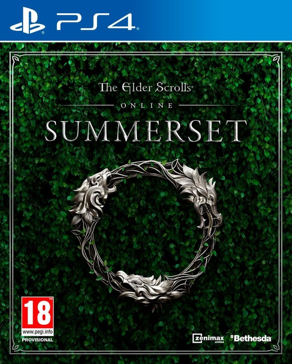 PS4 - The Elder Scrolls Online - Summerset (D) Physique (Box) 785300135457 Photo no. 1