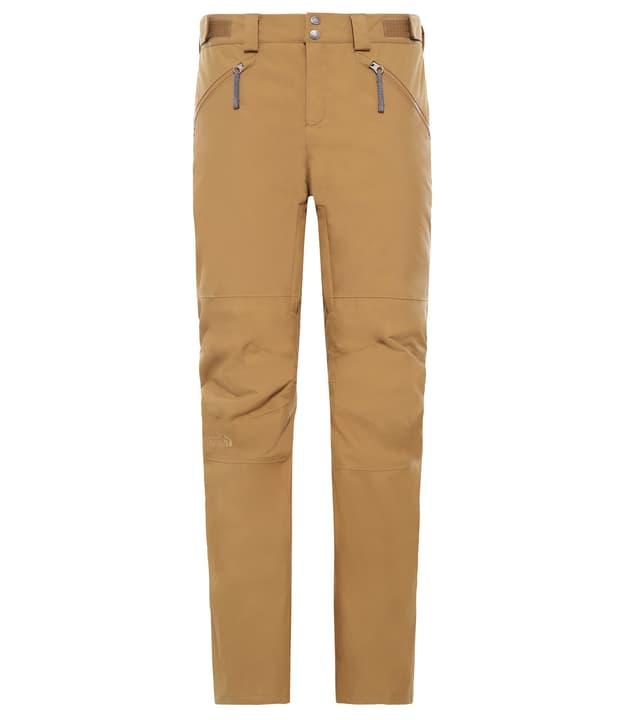 Aboutaday Pantalone da sci da donna The North Face 462538700323 Colore ocra Taglie S N. figura 1