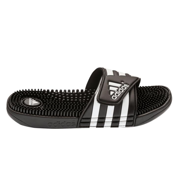 Adissage Mocassino da uomo Adidas 460661840520 Colore nero Taglie 40.5 N. figura 1
