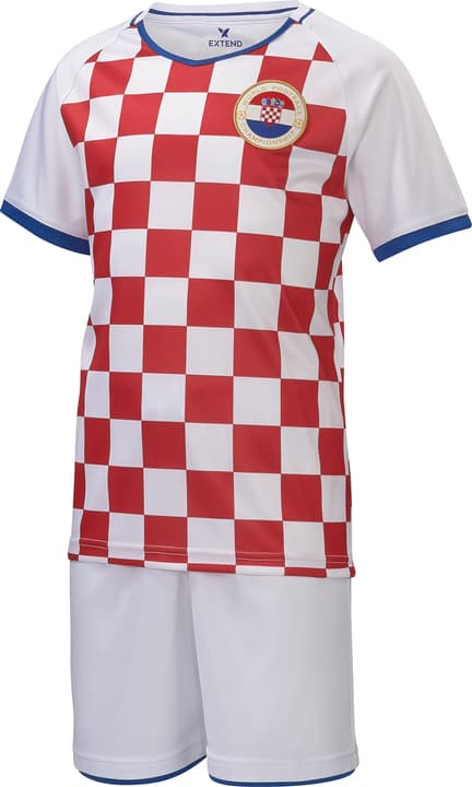 Set de supporter de foot pour enfants Croatie Extend 464561412330 Couleur rouge Taille 122/128 Photo no. 1