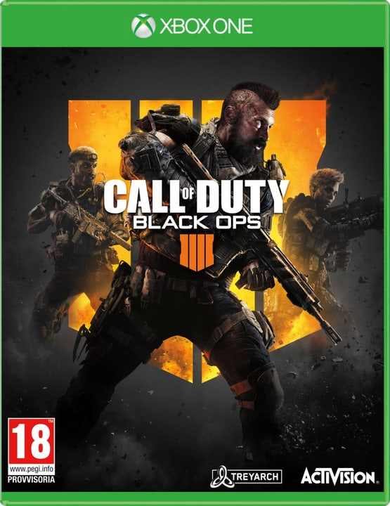 Xbox One - Call of Duty: Black Ops 4 Box 785300135601 Langue Italien Plate-forme Microsoft Xbox One Photo no. 1