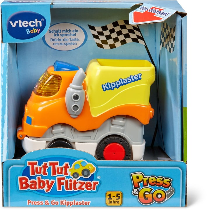 VTECH Press & Go Kipplaster (D) 746392890000 Sprache Deutsch Bild Nr. 1
