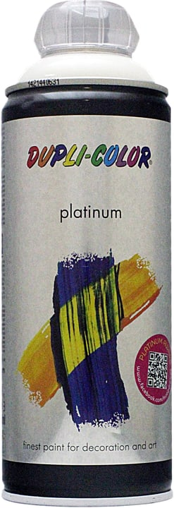 Peinture en aérosol Platinum brillante Dupli-Color 660827300000 Couleur Blanc Contenu 400.0 ml Photo no. 1