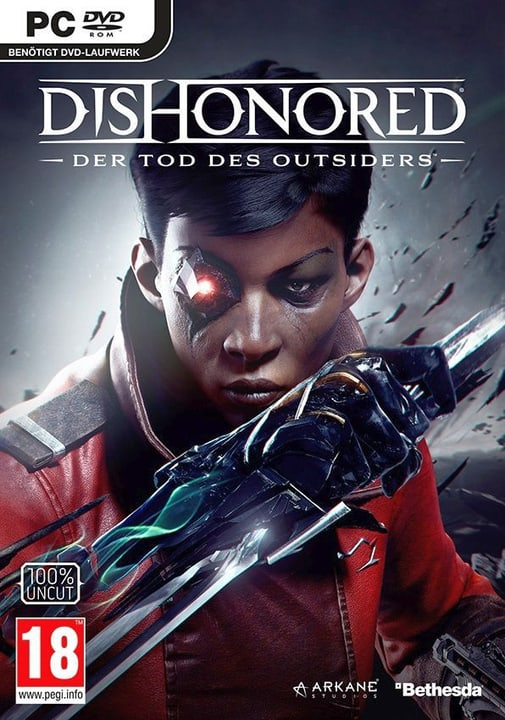 PC - Dishonored - Der Tod des Outsiders Physique (Box) 785300129176 Photo no. 1