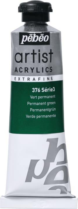 Pébéo Acrylic Extrafine Pebeo 663509037600 Couleur Vert Permanent Photo no. 1