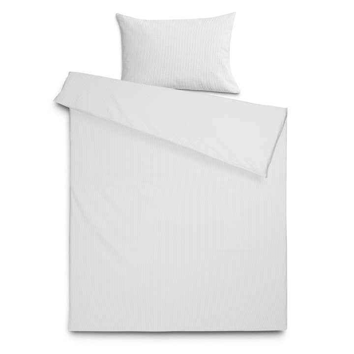 MIRA Federa per cuscino seersucker 376025361103 Colore Grigio a righe Dimensioni L: 100.0 cm x L: 65.0 cm N. figura 1