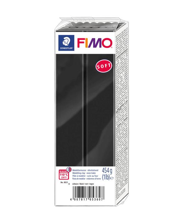 FIMO Soft Grossblock schwarz Fimo 666930400000 Bild Nr. 1