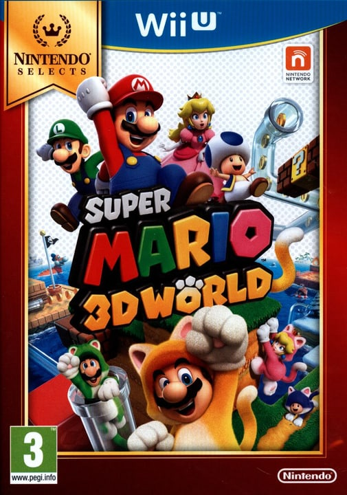 Wii U - Selects : Super Mario 3D World Fisico (Box) 785300121747 N. figura 1
