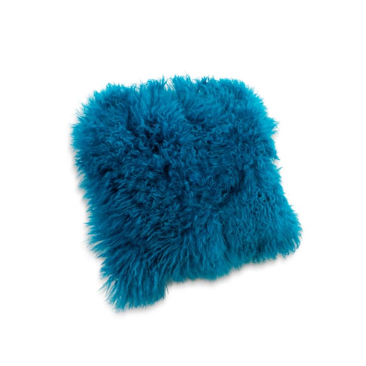 PANYA Fellkissen 378057400000 Farbe Blau Grösse B: 40.0 cm x T: 40.0 cm Bild Nr. 1