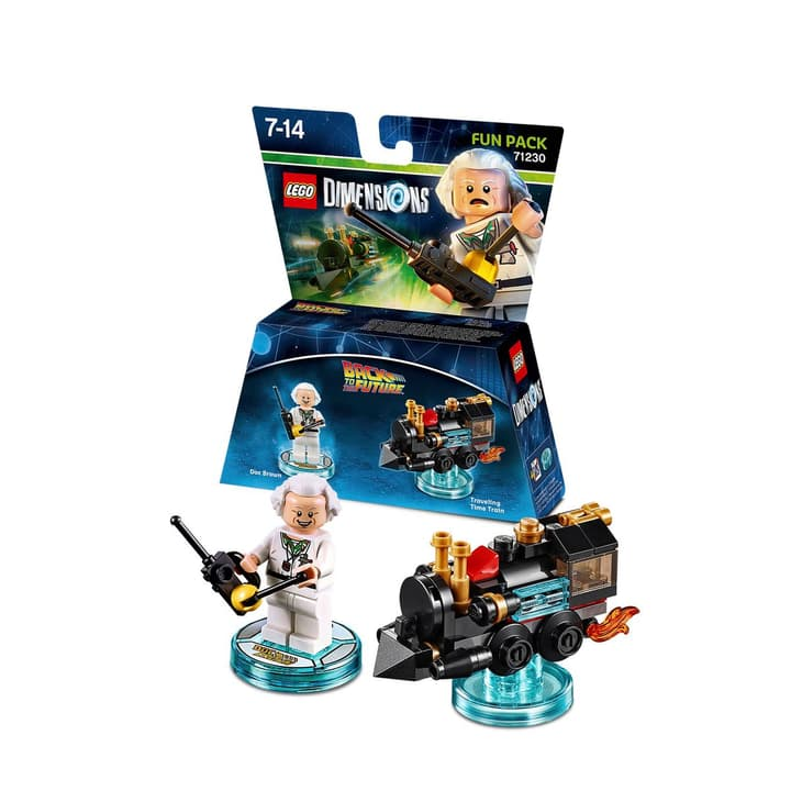 "LEGO Dimensions Fun Pack Back to the Future ""Doc Brown"" 785300119989 Photo no. 1"