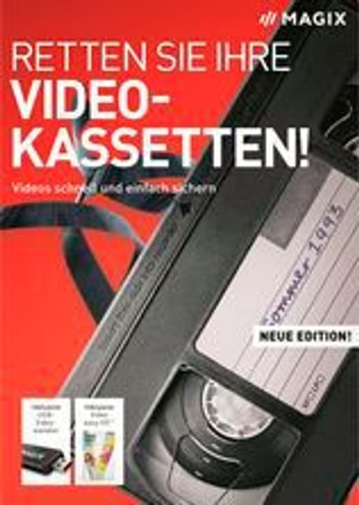Retten Sie Ihre Videokassetten 2020 [PC] (D) Physisch (Box) Magix 785300146286 Photo no. 1
