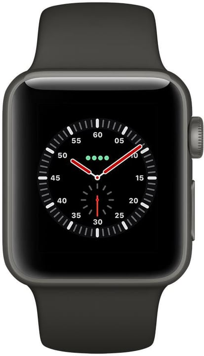 Watch Edition GPS/LTE 42mm gray/black Apple 785300130757 Bild Nr. 1