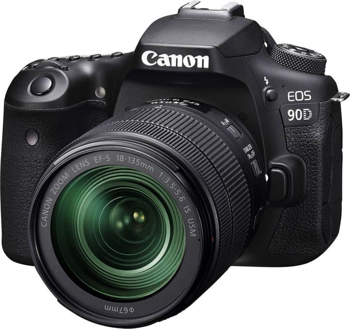 EOS 90D 18-135mm IS USM Nano Kit Spiegelreflexkamera Set Canon 793442800000 Bild Nr. 1