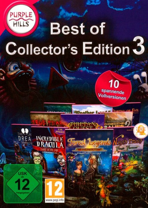 PC - Purple Hills: Best of Collector's Edition 3 D Box 785300132268 Bild Nr. 1