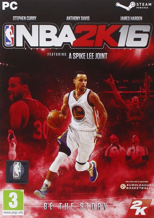 PC - NBA 2K16 Download (ESD) 785300133322 Bild Nr. 1