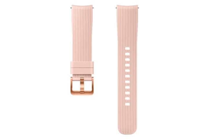 Galaxy Watch (42 mm) Silicone Band 20 mm rose Bracelet Samsung 785300138281 Photo no. 1