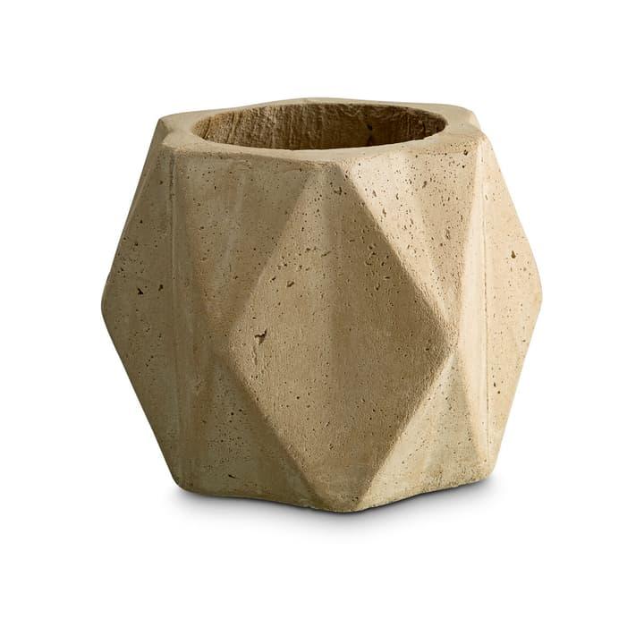 CONYA Cache-pot 382044900000 Dimensions L: 19.0 cm x P: 19.0 cm x H: 15.0 cm Couleur Beige Photo no. 1