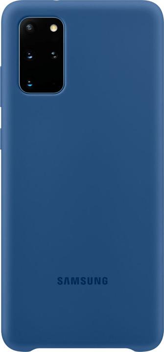 Silicone Cover navy Hülle Samsung 785300151176 Bild Nr. 1