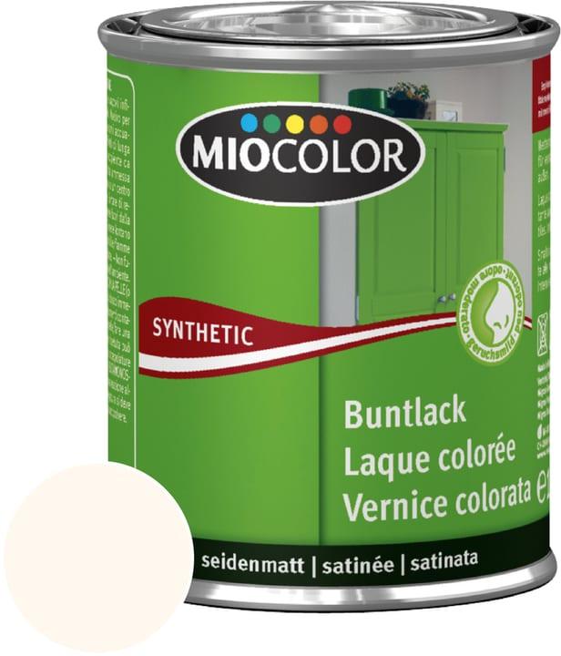 Synthetic Laque colorée satinée Miocolor 661435200000 Couleur Blanc crème RAL 9001 Contenu 125.0 ml Photo no. 1