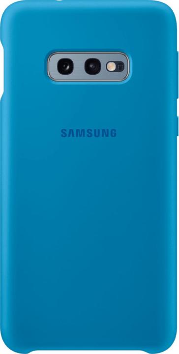 Silicone Cover Blue Custodia Samsung 785300142432 N. figura 1
