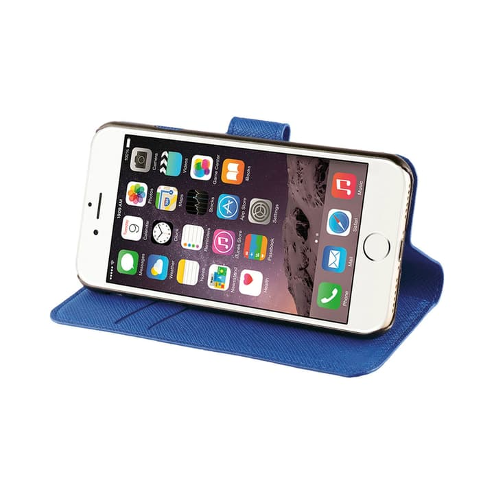 Wallet case for iPhone 8/ 7 blue XQISIT 798063000000 N. figura 1