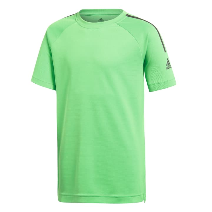 Cool Tee Shirt pour garçon Adidas 464565412861 Couleur vert clair Taille 128 Photo no. 1