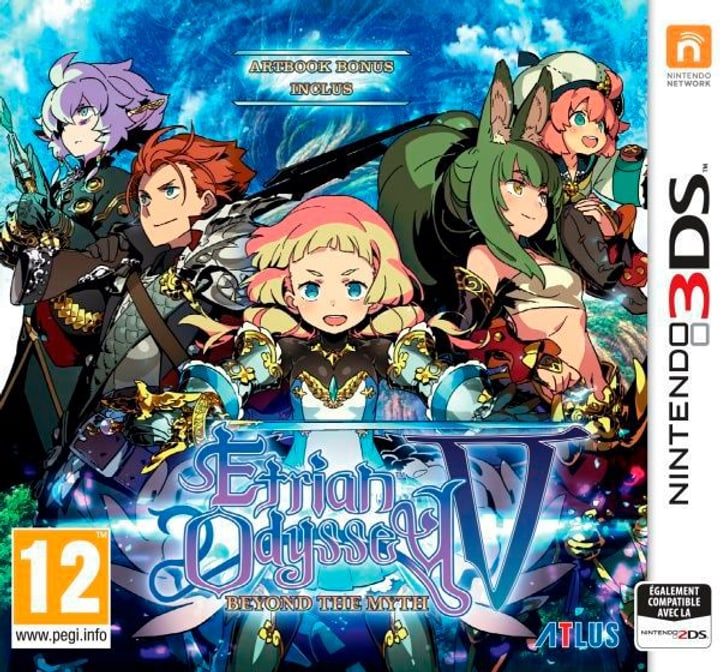 Etrian Odyssey V: Beyond the Myth [3DS] Physisch (Box) 785300129668 Bild Nr. 1
