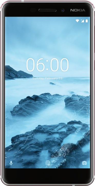 6.1 (2018) Dual SIM 32GB bianco Smartphone Nokia 785300133247 N. figura 1