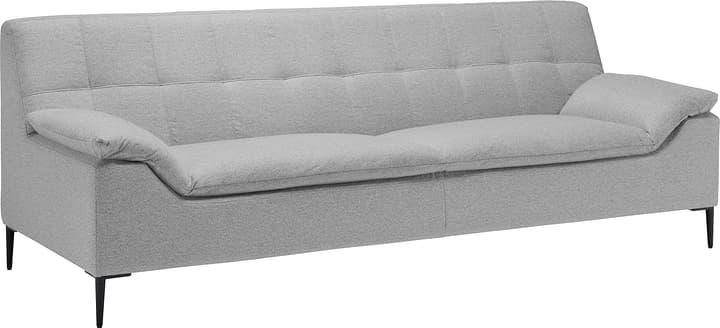 NORDMANN 3er-Sofa 405726230381 Grösse B: 234.0 cm x T: 85.0 cm x H: 82.0 cm Farbe Hellgrau Bild Nr. 1