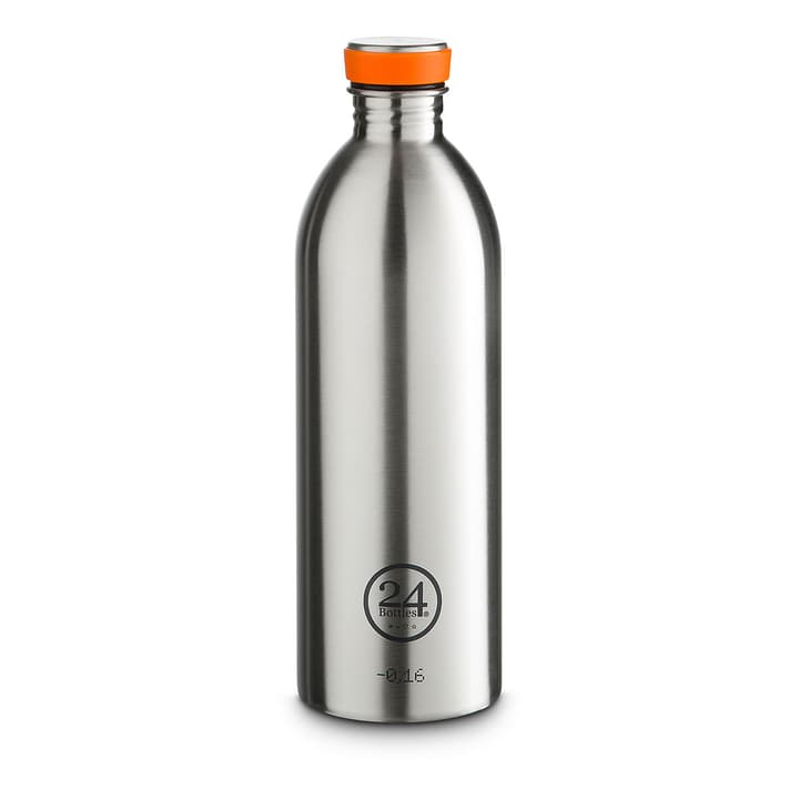 URBAN Trinkflasche 1.0 lt. silber 24 Bottles 393166100000 Bild Nr. 1