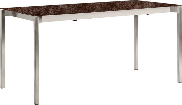 MALO Tavolo allungabile 408040315003 Dimensioni L: 150.0 cm x P: 90.0 cm x A: 75.0 cm Colore Iron Bronze N. figura 1