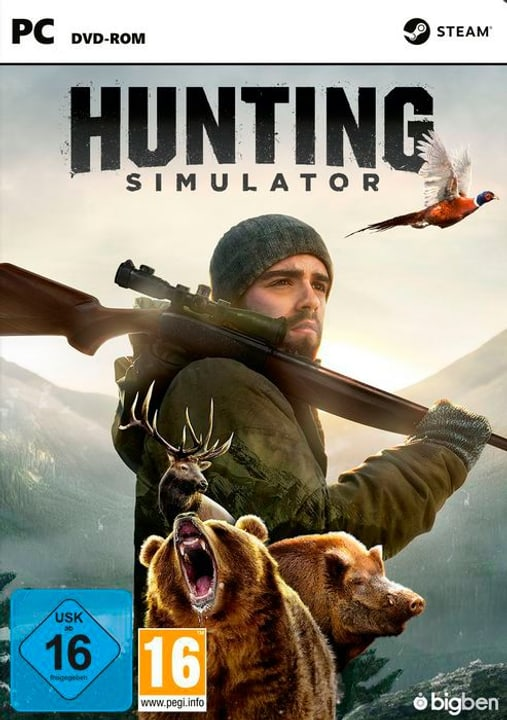 PC - Hunting Simulator Physique (Box) 785300122404 Photo no. 1