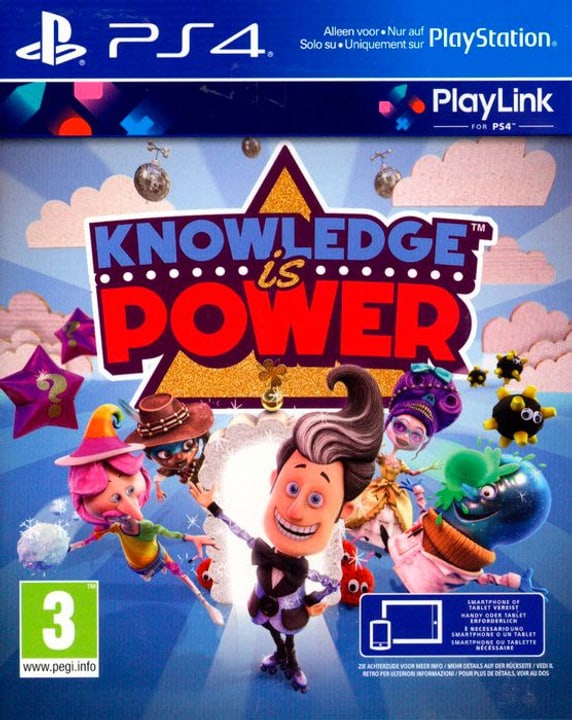 PS4 - Knowledge is Power Box 785300130185 Photo no. 1