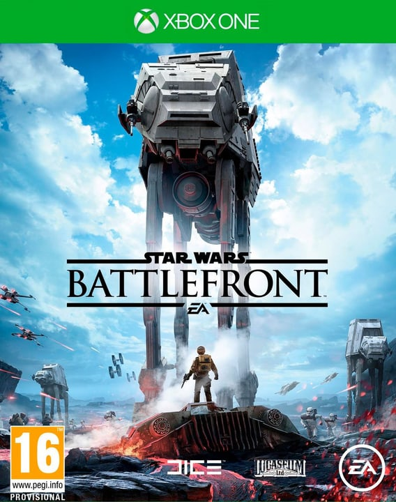 XBox One - Star Wars Battlefront Fisico (Box) 785300119826 N. figura 1