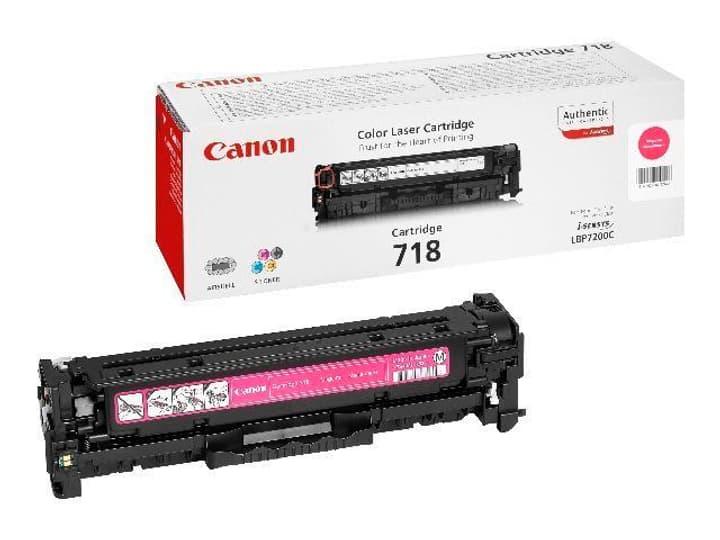Toner-Modul 718 magenta Canon 797550200000 Bild Nr. 1