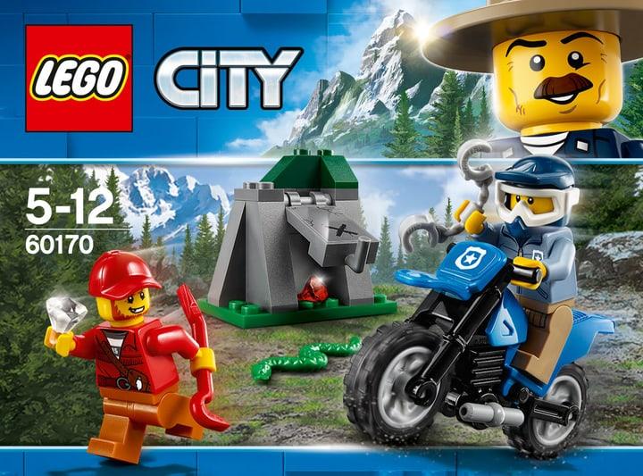 Lego City 60170 Inseguimento Fuori 748861000000 N. figura 1