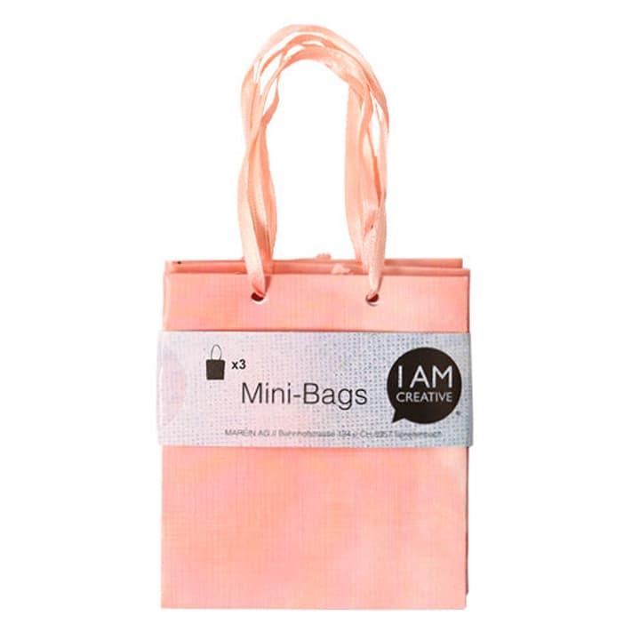 Minibags, rot, 8 x 8.9 x 4 cm, 3 Stk. I AM CREATIVE 666211100000 Bild Nr. 1