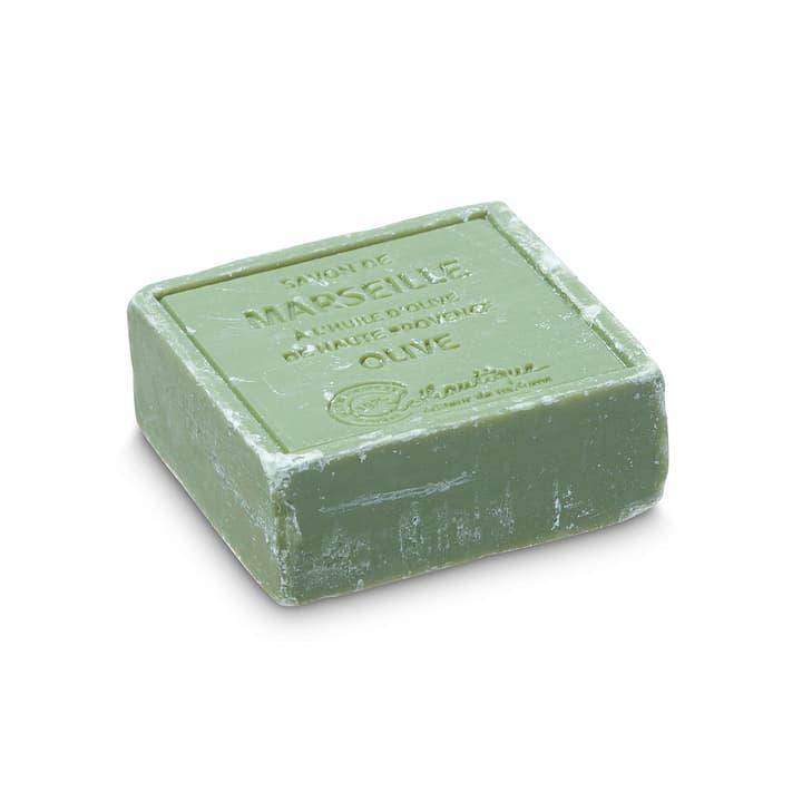 MARSEILLE Sapone d'oliva 374029200000 Dimensioni L: 6.5 cm x P: 6.5 cm x A: 2.5 cm Colore Oliva N. figura 1
